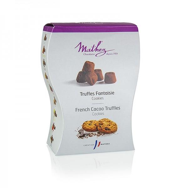 Mathez - Trüffelkonfekt - Pralinen mit Keks Mathez