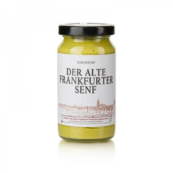 Kornmayer - Kornmayer - Alter Frankfurter Senf mittelscharf