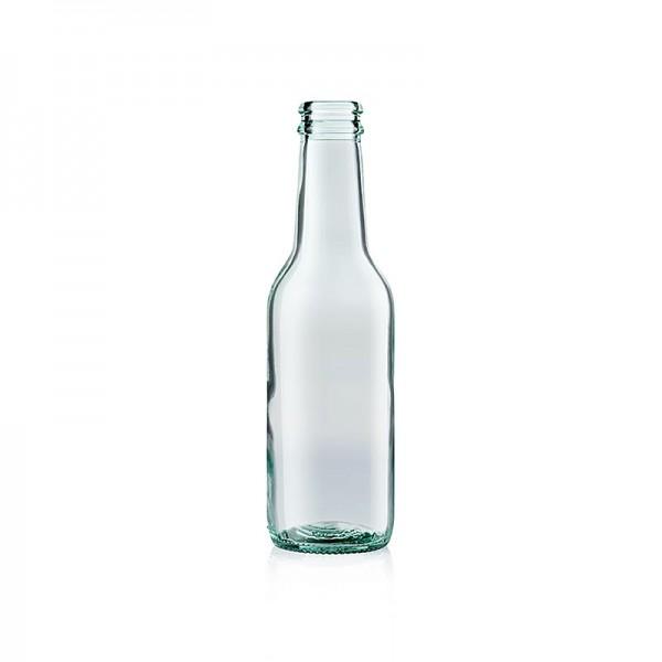 100% Chef - Gin Tonic Flaschen leer 200ml ohne Deckel 24 Stück 100% Chef (100/0073)