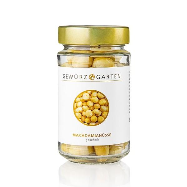 Gewürzgarten Selection - Gewürzgarten Macadamia Nüsse geschält ungesalzen