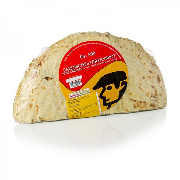 Guttiau - Sardisches Brot Pane Carasau