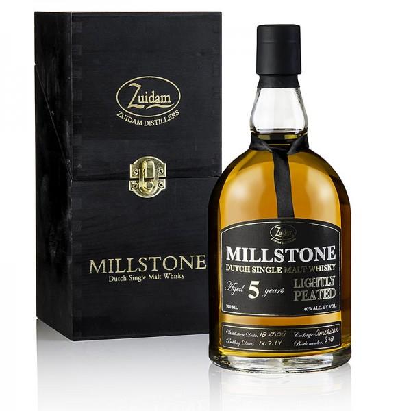 Zuidam Millstone - Single Malt Whisky Zuidam Millstone 5 Jahre Lighltly Peated 40% vol. Holland