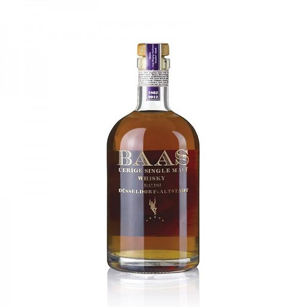 Uerige Baas - Single Malt Whisky Uerige Baas 5 Jahre Port Fass 46.8% vol. Düsseldorf