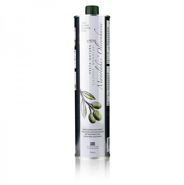 Manolakis Olive Groves - Manolakis Groves Olivenöl Extra Nativ aus Koroneiki Oliven Kreta