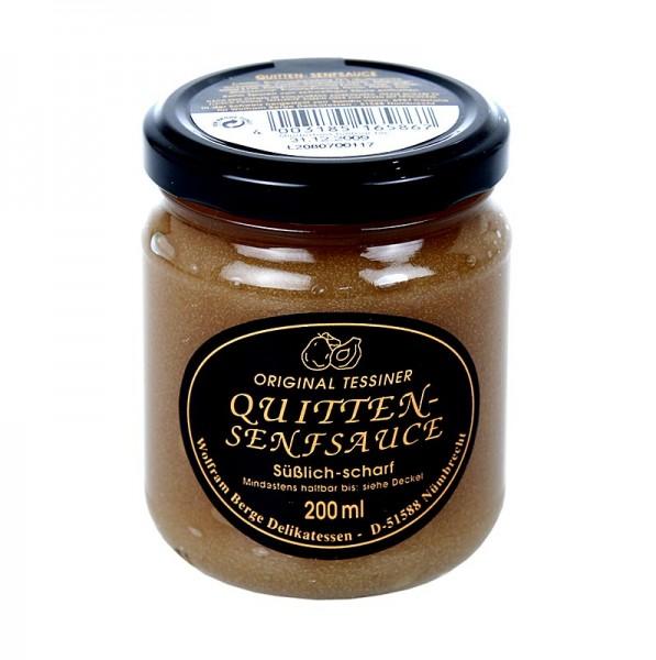 Original Tessiner - Original Tessiner Quitten-Senf-Sauce