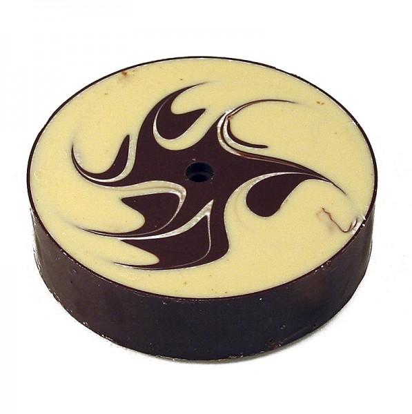 Deli-Vinos Patisserie - Choco Rolles - weiße Schokolade marmoriert