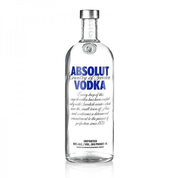 Absolut Vodka - Absolut Vodka 40% vol. Schweden