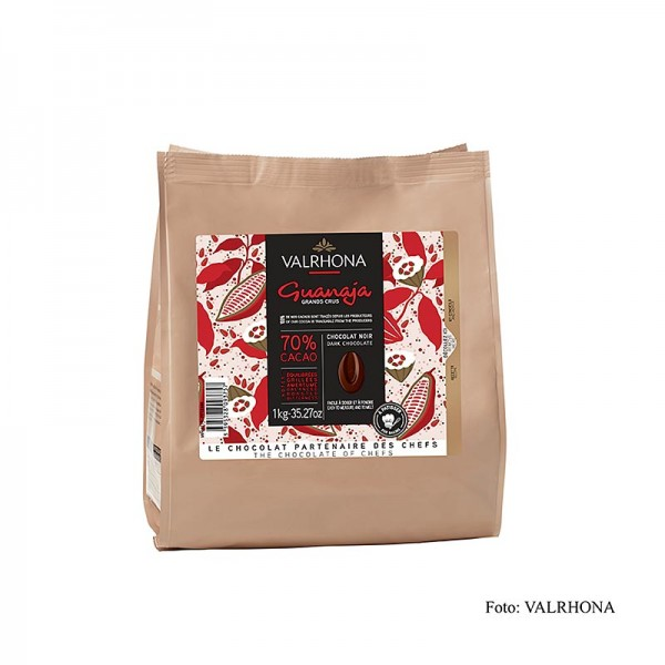 Valrhona - Guanaja Grand Cru dunkle Couverture Callets 70% Kakao