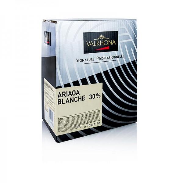 Valrhona - Ariaga Blanchet weiße Couverture Callets 30% Kakaobutter