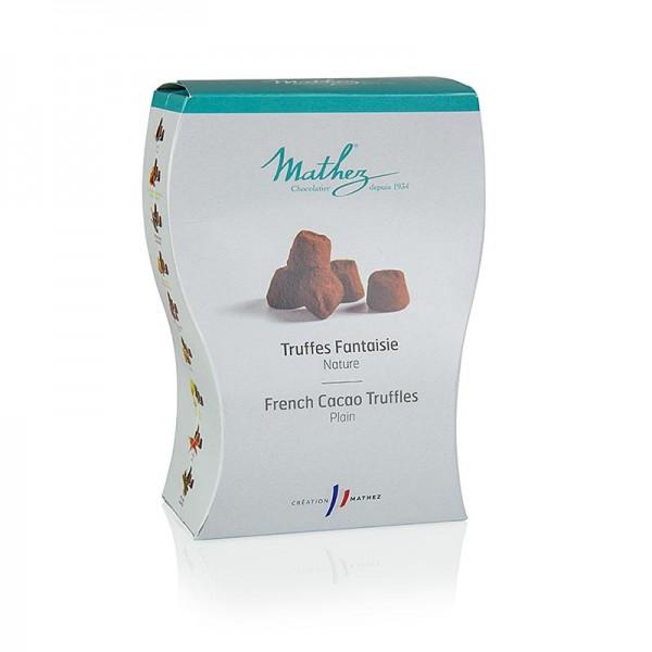 Mathez - Trüffelkonfekt - Pralinen mit Kakao Mathez