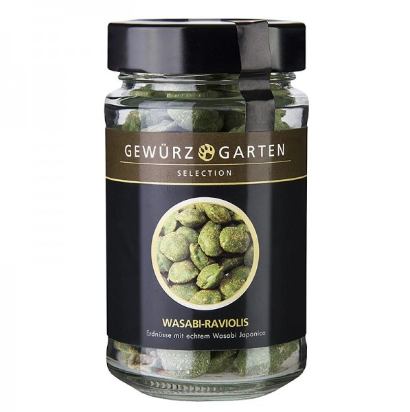 Gewürzgarten Selection - Gewürzgarten Erdnüsse im Teigmantel Wasabi Raviolis mit echtem Wasabi Japonica