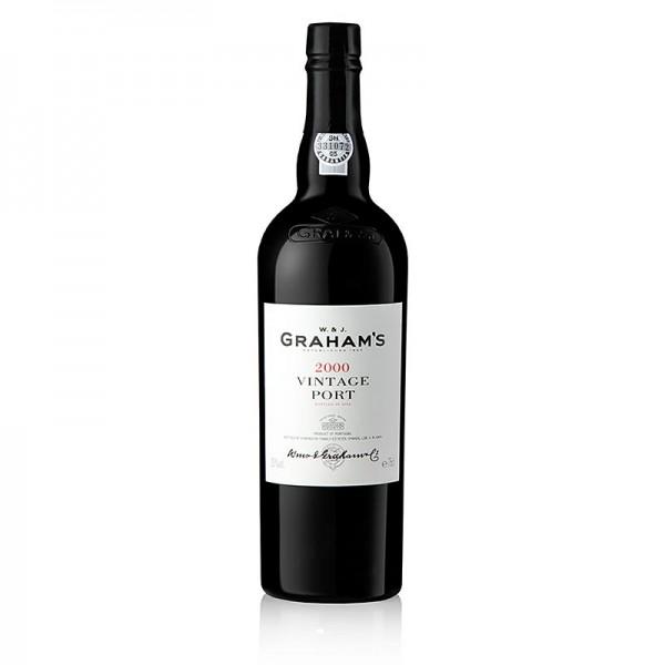 Graham's - Graham´s - 2000er Vintage Portwein süß 20% vol. 98 Wine Spectator Pkt.