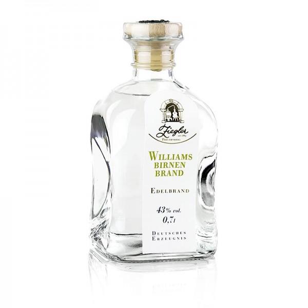 Ziegler Edelbrand - Williamsbirnenbrand - Edelbrand 43% vol. Ziegler