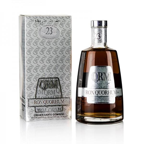 Quorhum Rum - Quorhum Rum 23 Jahre Dominikanische Republik 40% vol.
