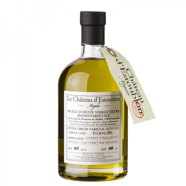 Chateau d´Estoublon - Olivenöl Extra Vierge aus Picholine Oliven Chateau d´Estoublon