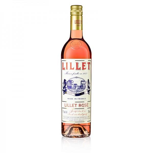 Lillet - Lillet Rosé Weinaperitif 17% vol.
