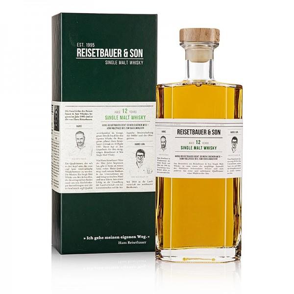 Reisetbauer Edelbrände - Single Malt Whisky Reisetbauer 12 Jahre - limitierte Edition 48% vol.