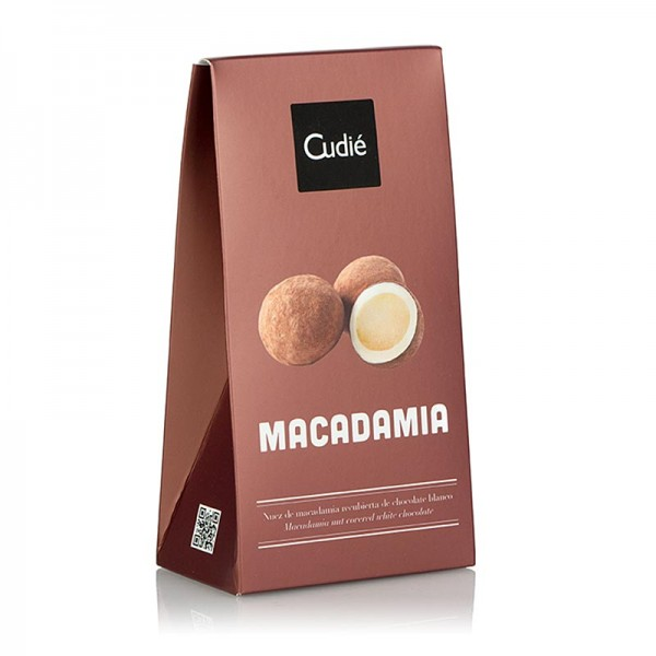 Catanies - Catanies karam. Macadamia in weißer Schokolade 80g Cudie